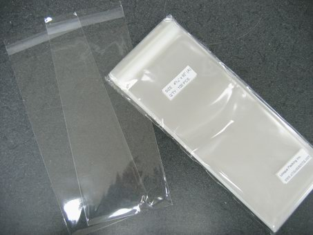 300- 4 5/16 x 9 3/4 bags for #10 Business Envelope