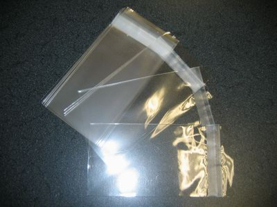 3000- 3 x 8 Clear Resealable Cello Bags