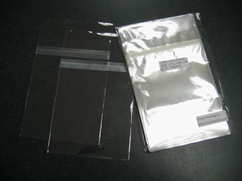 3000-  4 15/16 x 6 9/16 bags for A6 card /w envelope (Protect)
