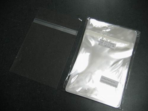 500-- 5 7/16 x 7 1/4 bags for A7 card /w envelope (Protect)