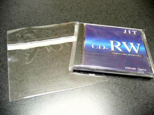 500- Standard CD Jewel Case Wrap/Bags